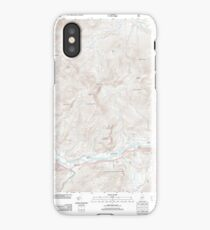 Maine USGS Historical Map Gilead 20120118 TM iPhone Case/Skin