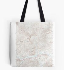 Maine USGS Historical Map Gilead 20120118 TM Tote Bag