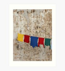 Washing Line Art Print