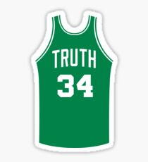 Truth Jersey Script 2 Sticker