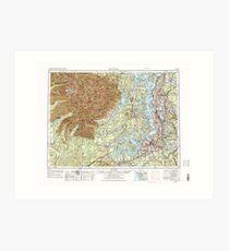 USGS Topo Map Washington State WA Seattle 243646 1958 250000 Art Print