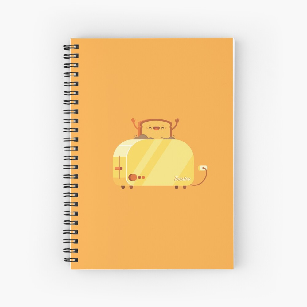 Burning Toast Spiral Notebook