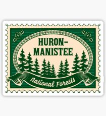 Huron-Manistee National Forests Sticker