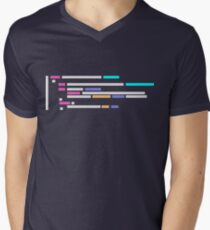 Code #1 Men's V-Neck T-Shirt
