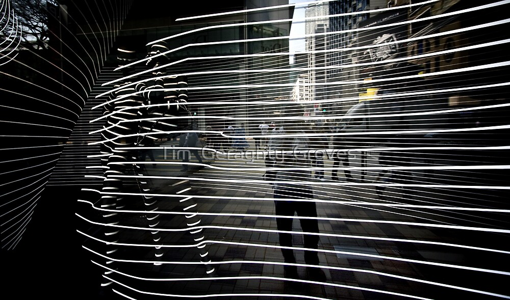 Crazy Reflections, Hong Kong Shop Front by Tim  Geraghty-Groves
