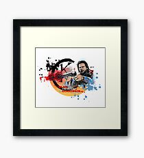 'The Dark Tower' - Roland Deschain 'Opening Line' v1 Framed Print
