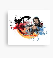'The Dark Tower' - Roland Deschain 'Opening Line' v1 Canvas Print