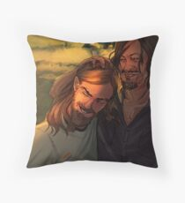 (DESUS) Daryl & Jesus Throw Pillow