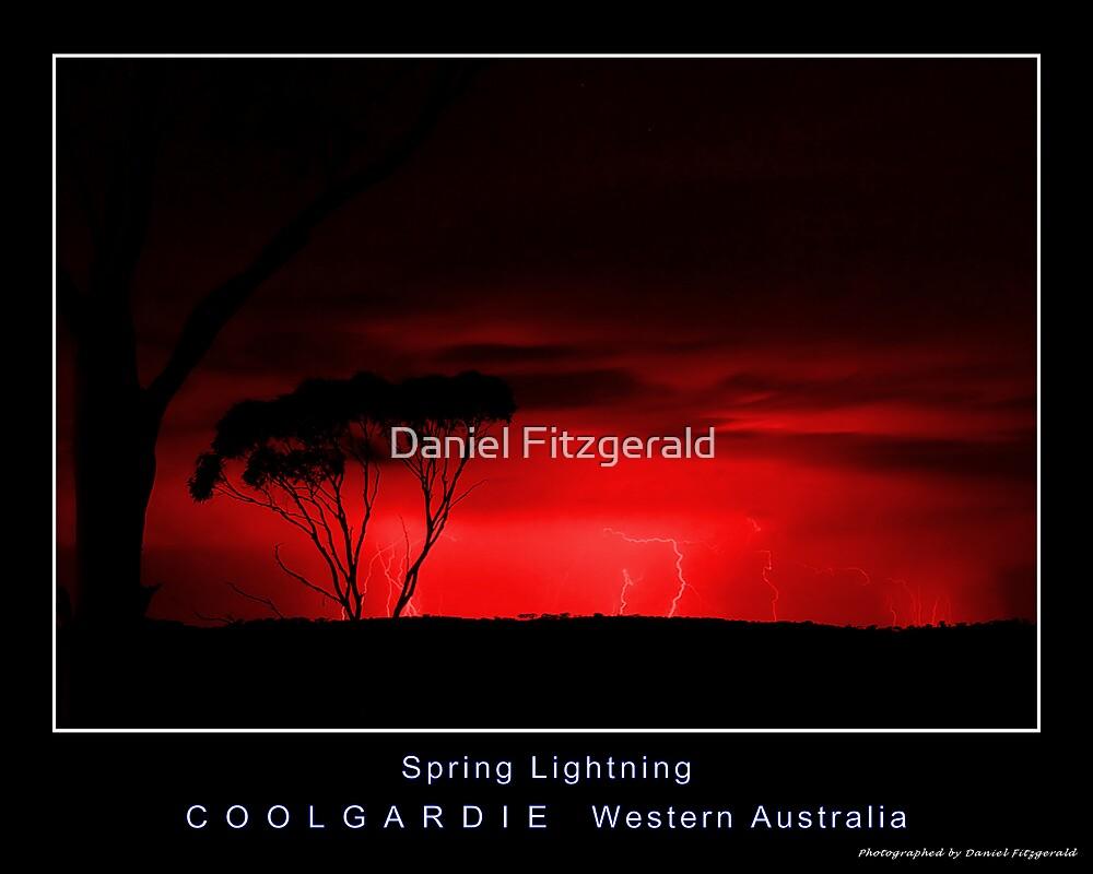 Red Version - Spring Lightning by Daniel Fitzgerald