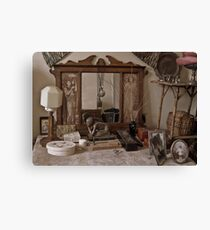 Dressing Table Canvas Print