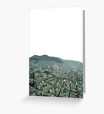 Busan view Greeting Card