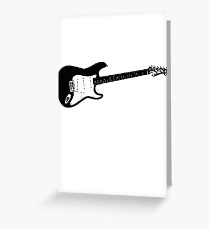 GUITAR S Greeting Card
