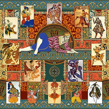 Ballets Russe Tapestry by jenithea