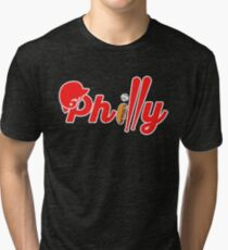 Philly Baseball Philadelphia Pennsylvania Philadelphian Fans Tri-blend T-Shirt