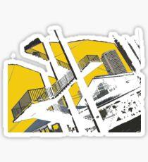 urban stairs Sticker