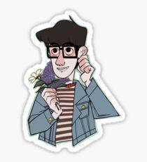 Flower Graham Sticker