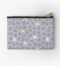 Elephants - cute baby pattern by Cecca Designs Studio Pouch