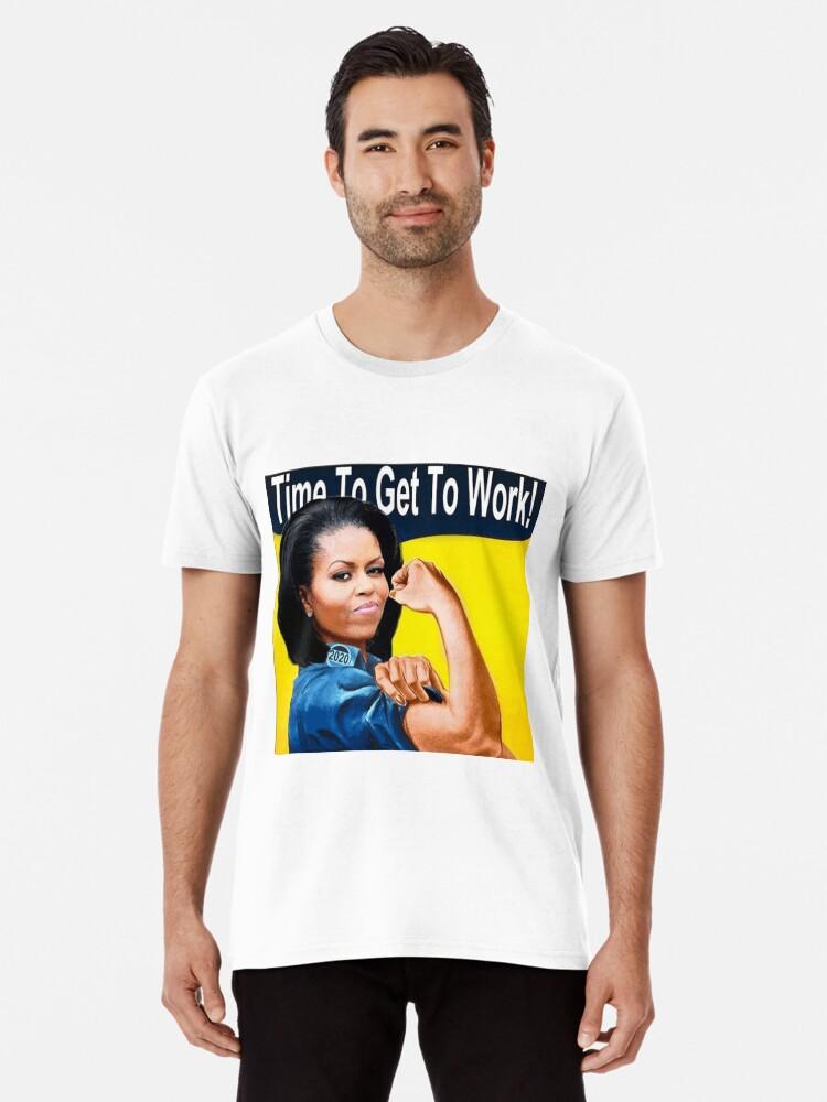dc54c18a Michelle Obama 2020, Michelle Obama for President Premium T-Shirt