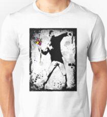 Banksy protester Unisex T-Shirt