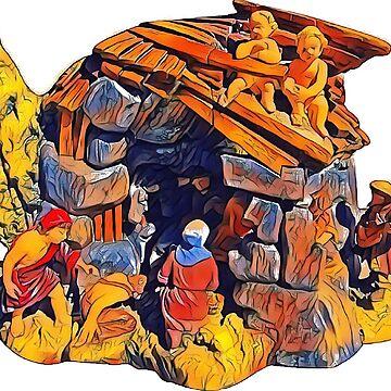 Popart NativityScene by atelierwilfried