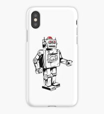 Robots on the move iPhone Case/Skin