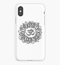 Om mandala iPhone Case/Skin
