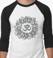 Om mandala Men's Baseball ¾ T-Shirt
