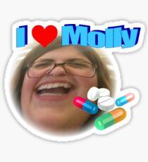 I Love You Molly Sticker