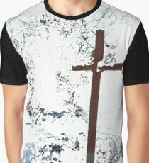 Cross in the Snow  Graphic T-Shirt