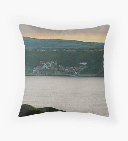 Runswick Bay Throw Pillow