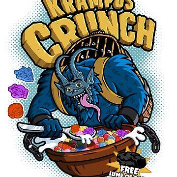 Krampus Crunch  by BrandXTees