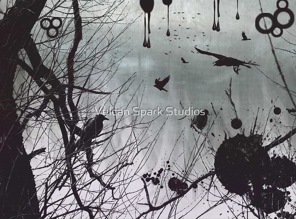 Raven Gathering by Vulcan Spark Studios