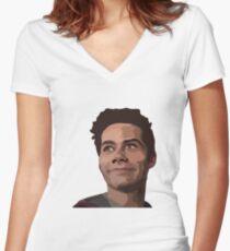 Stiles Stilinski Women's Fitted V-Neck T-Shirt