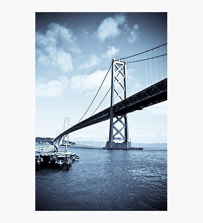 The SF Bay Bridge Photographic Print