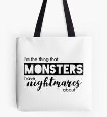 Buffy - ich bin die Sache, über die Monster Albträume haben Tote Bag