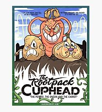 CupHead The Root pack Poster and more  Photographic Print