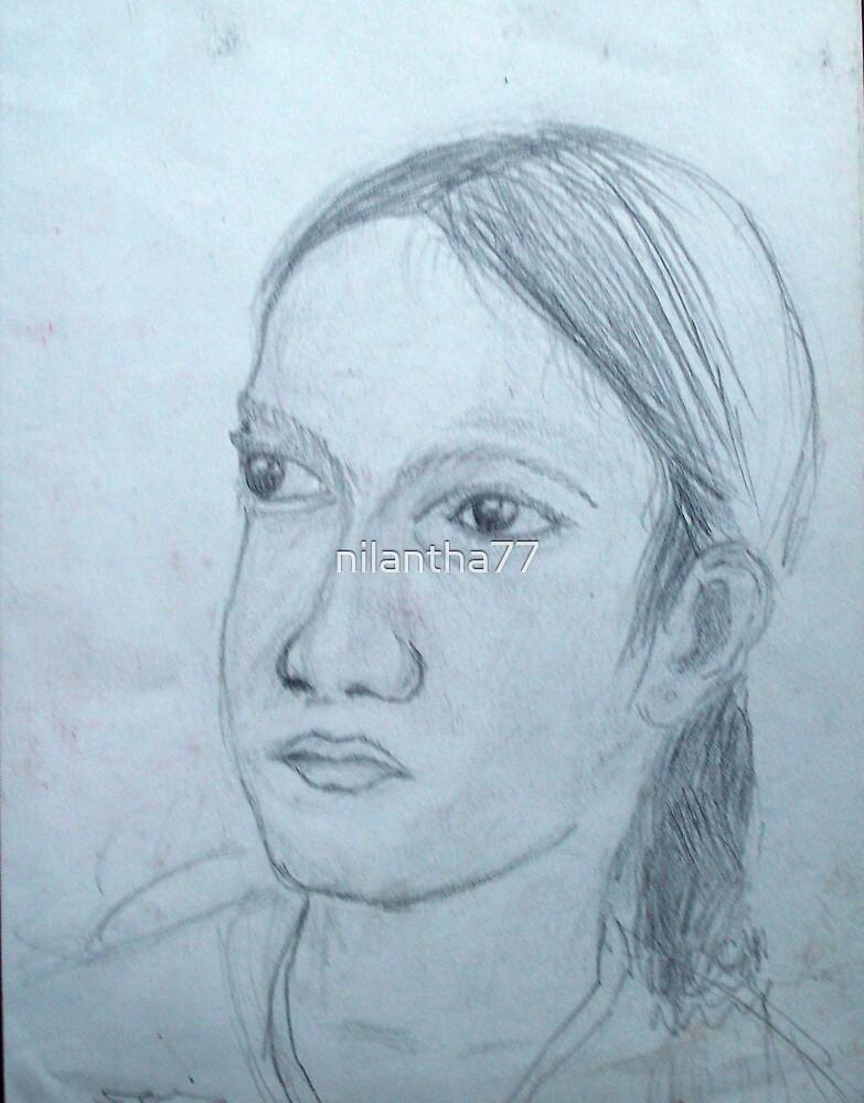 study of head III by nilantha77