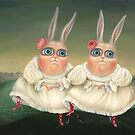 Dancing Twins. Fine Art Prints  by Irena Aizen