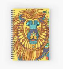Lion, from the AlphaPod collection Spiral Notebook
