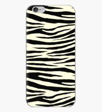 0381 Light Yellow Tiger iPhone Case