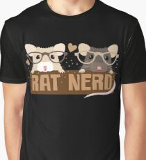 RAT NERD (Self proclaimed expert about RATS) Graphic T-Shirt