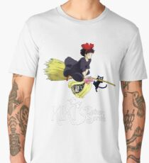 Kiki's Delivery Service-Studio Ghibli Men's Premium T-Shirt