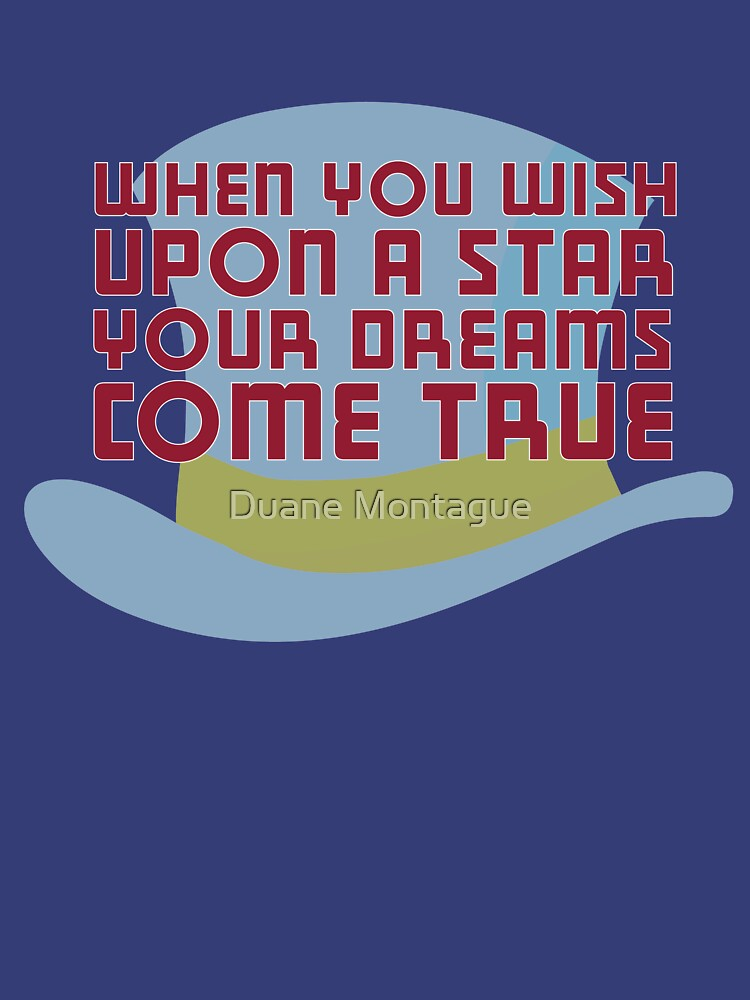 Wish Upon A Star Womens T Shirt By Thinksinc Redbubble