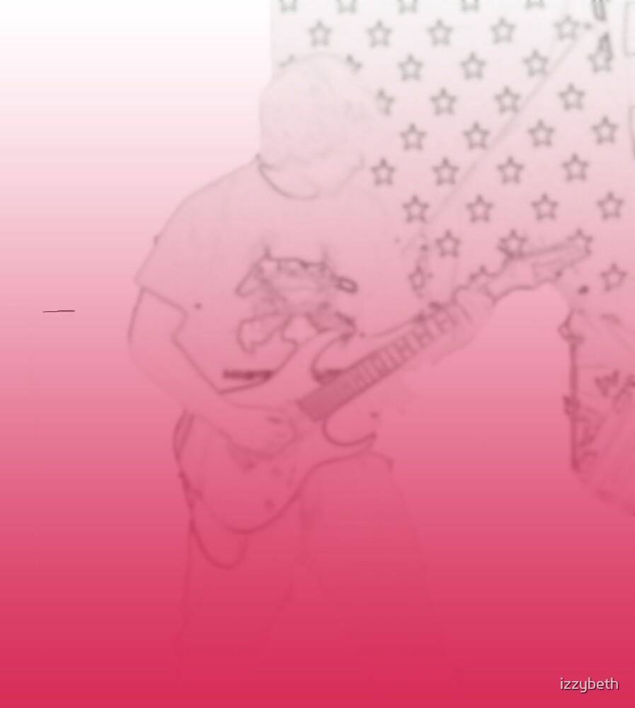 TonyIV on Guitar by izzybeth