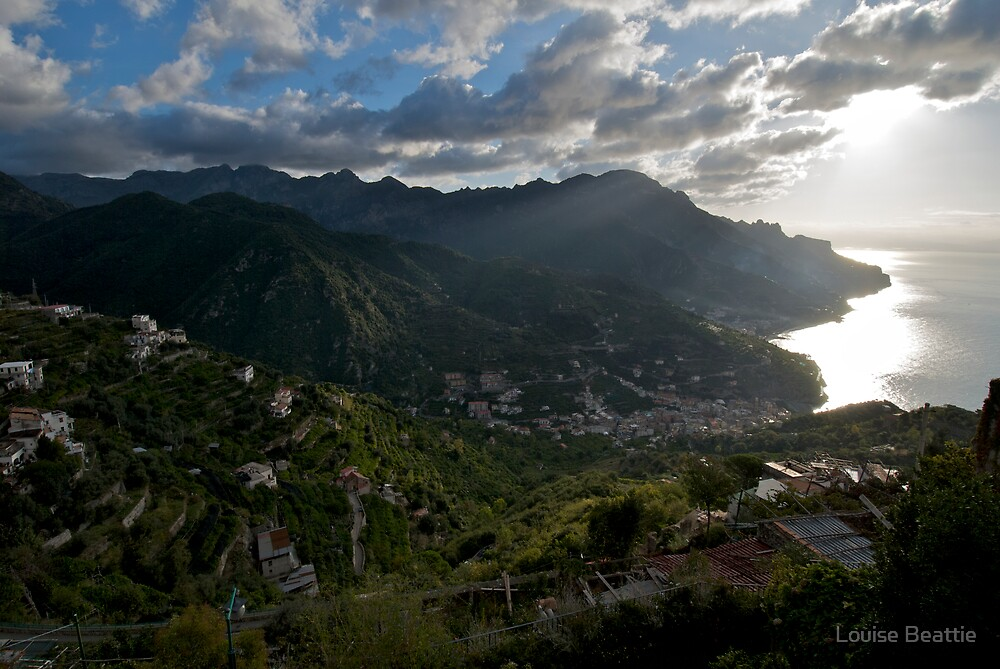 Early Morning From Ravello by Louise Beattie