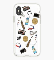 Stranger Things Art Sticker Phone Case iPhone Case