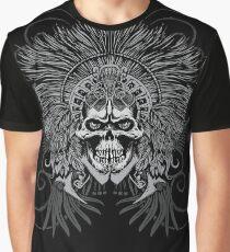 AZTEC SKULL Graphic T-Shirt