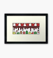Happy Yummy Holidays! Other taste Framed Print