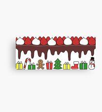 Happy Yummy Holidays! Other taste Canvas Print