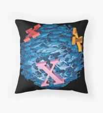 'X' Marks the Spot Throw Pillow